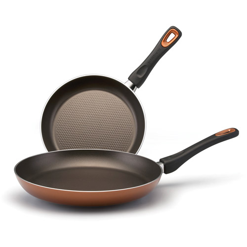 Farberware High-Performance 2-Piece Skillet Set, Copper
