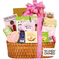 Alder Creek Gifts Mothers Day Gourmet Gift Basket for Mom 4 Pound