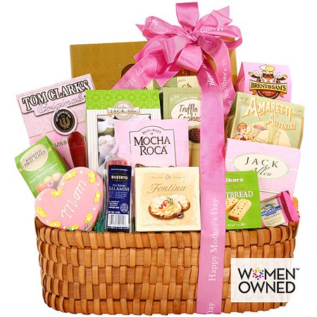 Basket Gift Ideas (Alder Creek Gifts Mothers Day Gourmet Gift Basket for Mom 4)