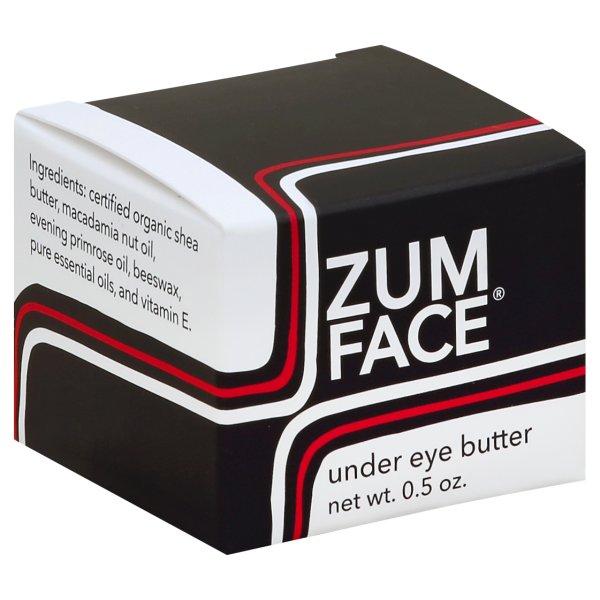 Indigo Wild, Zum Face Under Eye Butter, 0.5 oz Deep Cleansing Abosrbant Mask (Combination to Oily Skin) 1.69oz