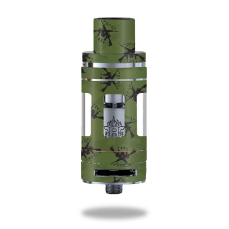 Skin Decal Wrap for Smok TFV8 Tank Molon Labe