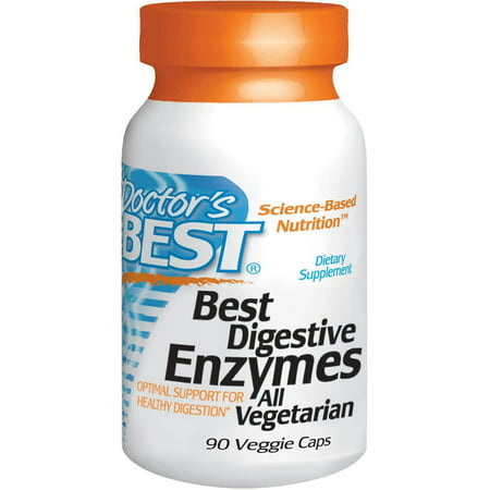 Doctor's Best enzymes digestives, 90 CT