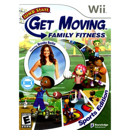 Image of Jumpstart Get Moving Family Fitness (Wii)