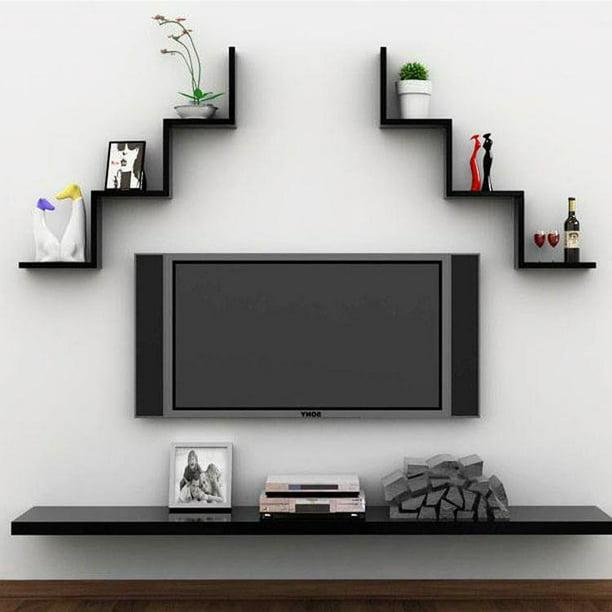 Wall Mount Floating Shelves Shelf Storage Bookshelf Display Rack Home Room