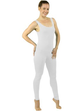 Stretch is Comfort Teamwear Youth Women's Plus Size Cotton Tank Unitard