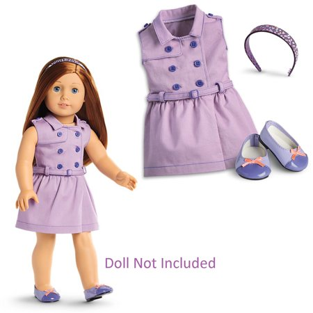 American Girl Truly Me Travel in Style Dress for Dolls  (Doll Not Included) (American Me Doll)