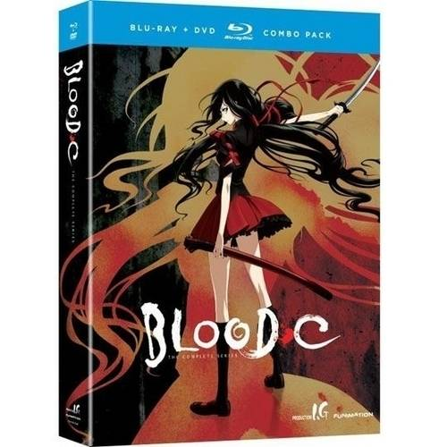 Blood-C: The Complete Series (Blu-ray + DVD)