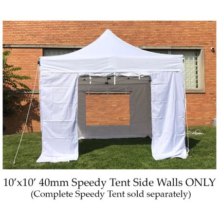 Party Tents Direct 40mm Speedy Pop Up Instant Canopy Tent Sidewalls ONLY, 10