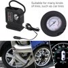 Portable Car Air Compressor Pump Tire 12V And 3 Adapter Electric Tyre Inflator