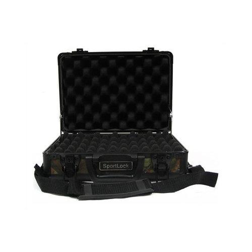 SportLock LLC CamoLock Double Pistol Case