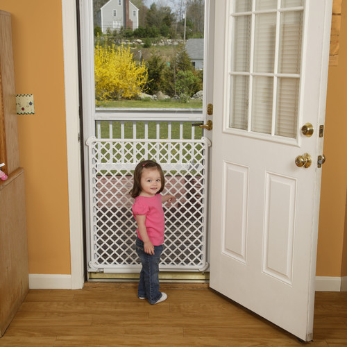White Screen Doors safety 1st screen door saver, white - walmart