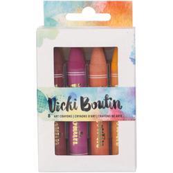 Set 1 - Vicki Boutin Mixed Media Oil Pastel Art Crayons 8/Pkg