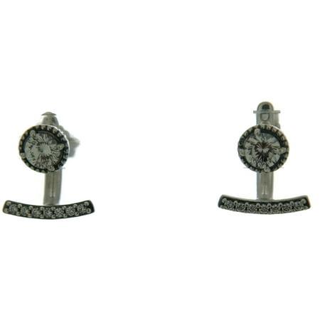 68e6c0c2d Pandora - Authentic Abstract Elegance Earrings, Clear CZ 290743CZ -  Walmart.com