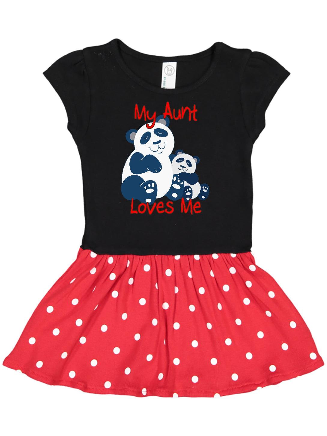 inktastic Cute Panda Gift for Girls Baby T-Shirt