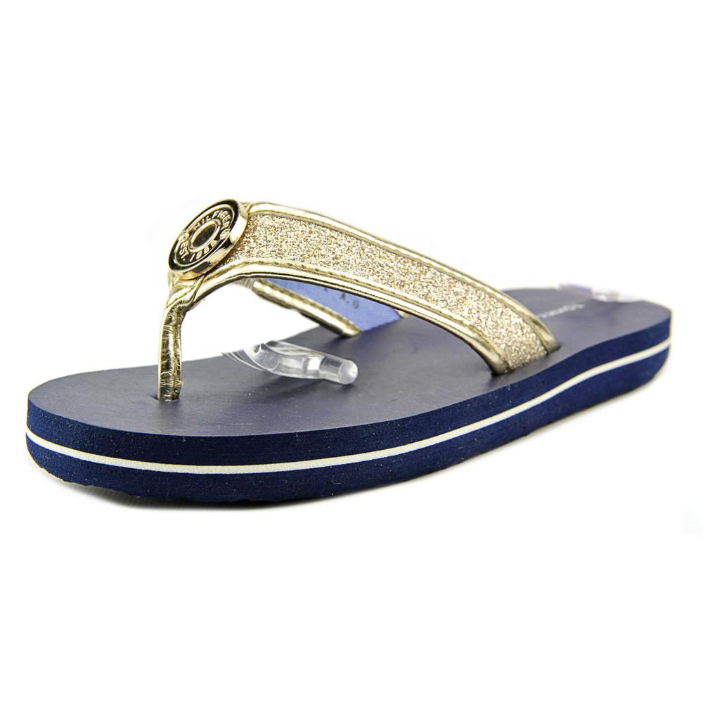 Tommy Hilfiger Glitter Flip Flop Youth  Open Toe Synthetic  Flip Flop Sandal