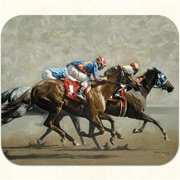 Long Shot Horse Racing Mouse Pad by Fiddler's Elbow