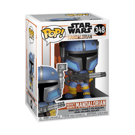 Funko POP! Star Wars: The Mandalorian - Heavy Infantry Mandalorian