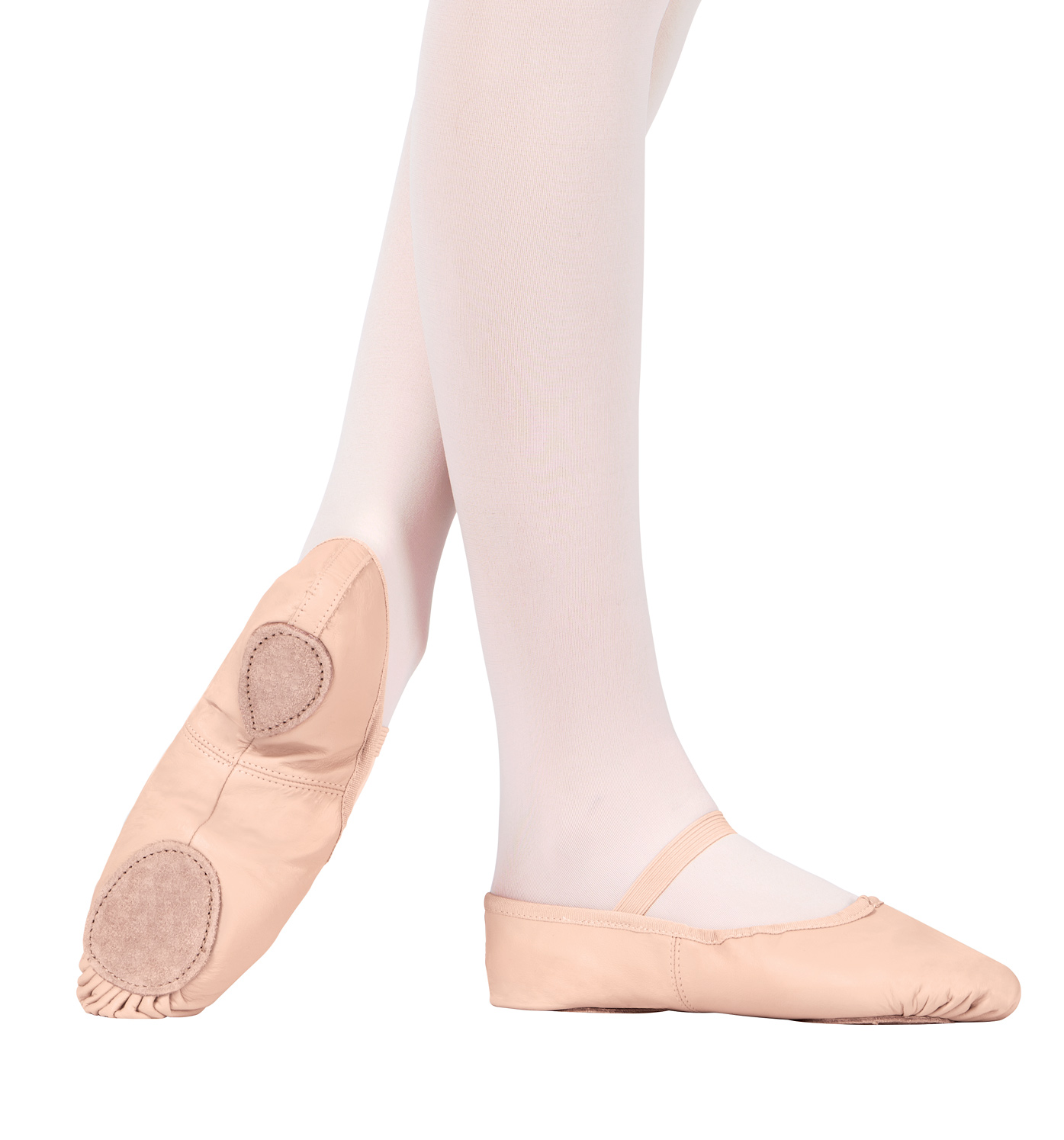 Adult Leather Split-Sole Ballet Shoes by THEATRICALS
