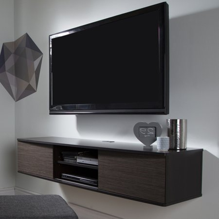South Shore Agora Wall Mounted Tv Stand For Tvs Up To 56   Multiple Finishes