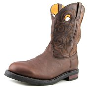 Rocky Ranch Master Men W Round Toe Leather  Western Boot