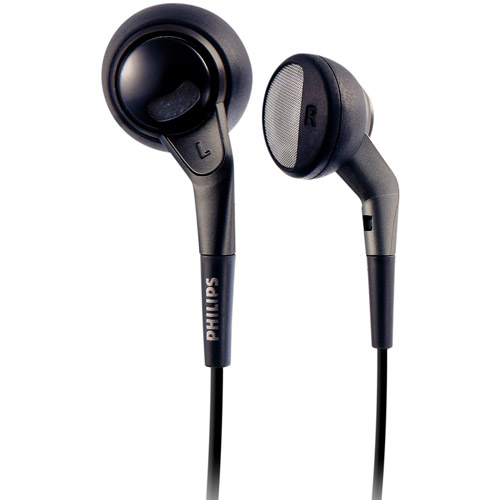 Philips In-Ear Earbuds Extra Bass, SHE2650/28, Black (New Open Box)