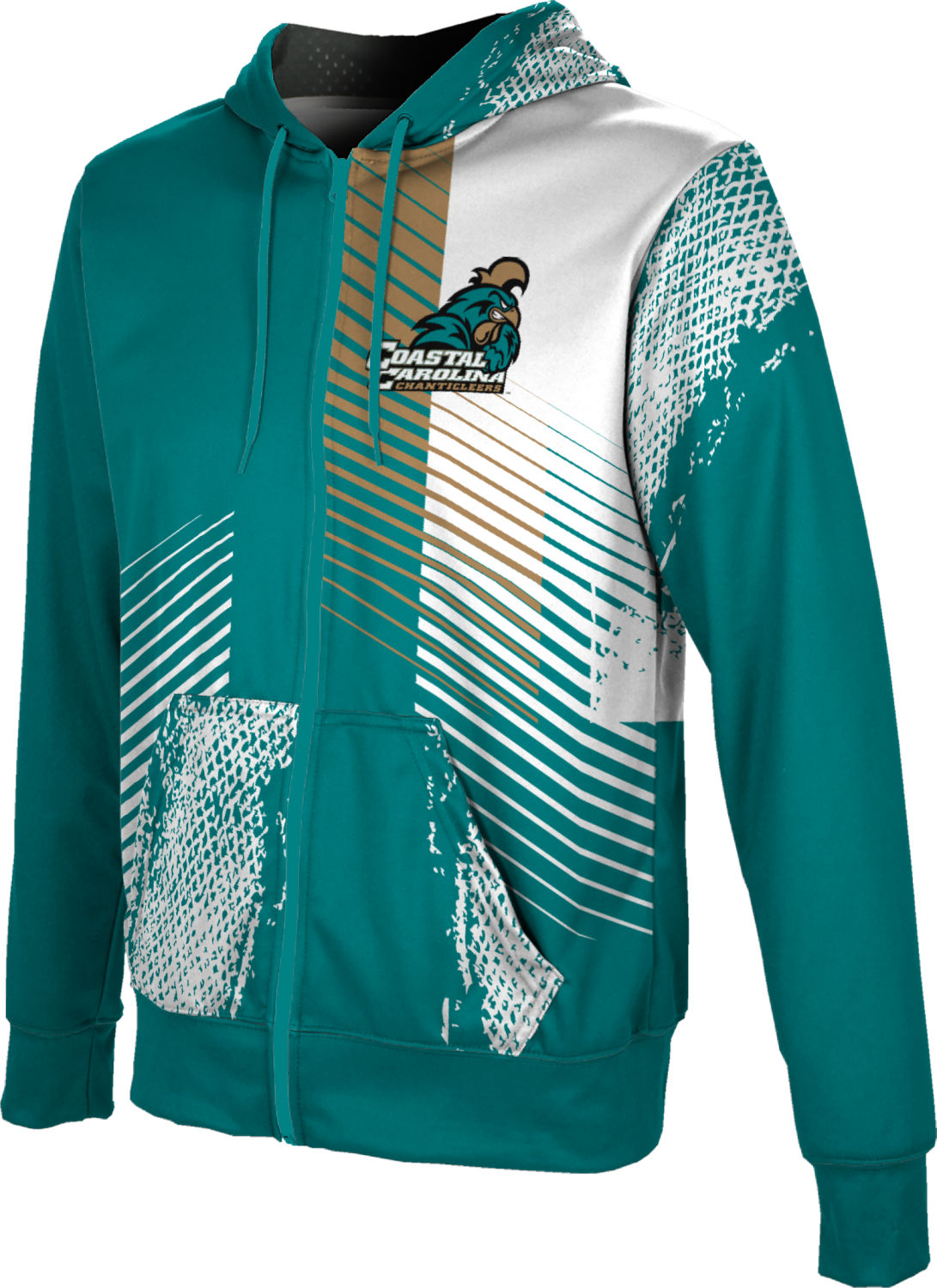 ProSphere Boys' Coastal Carolina University Hustle Fullzip Hoodie