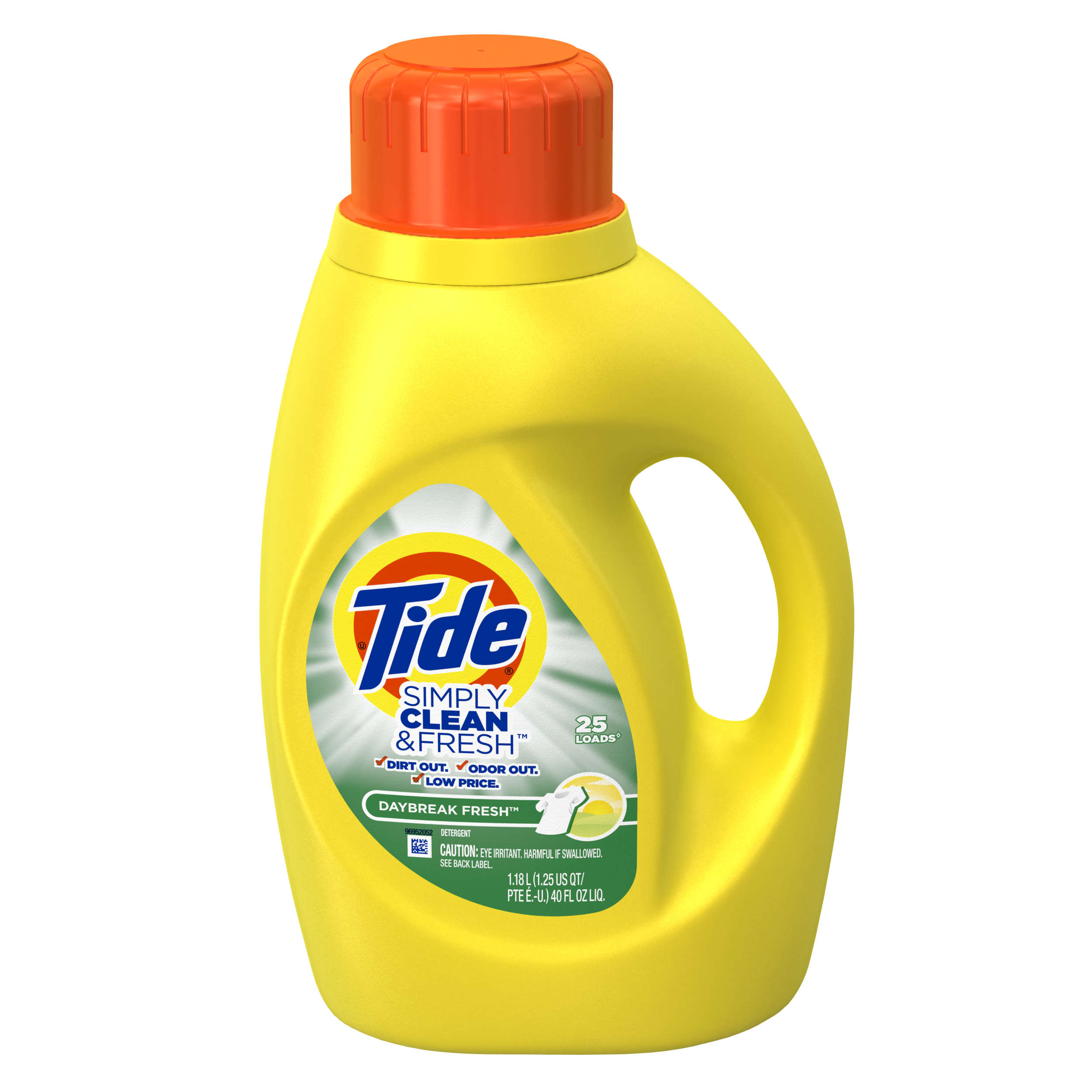 Tide Liquid Laundry Detergent, Simply Clean & Sensitive, 40 Ounce