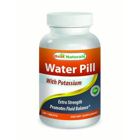 Best Naturals pilule d'eau 180 comprimés