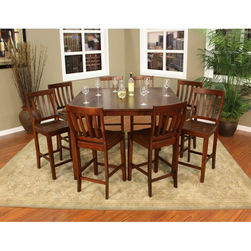 American Heritage Este 9 Piece Counter Height Dining Set