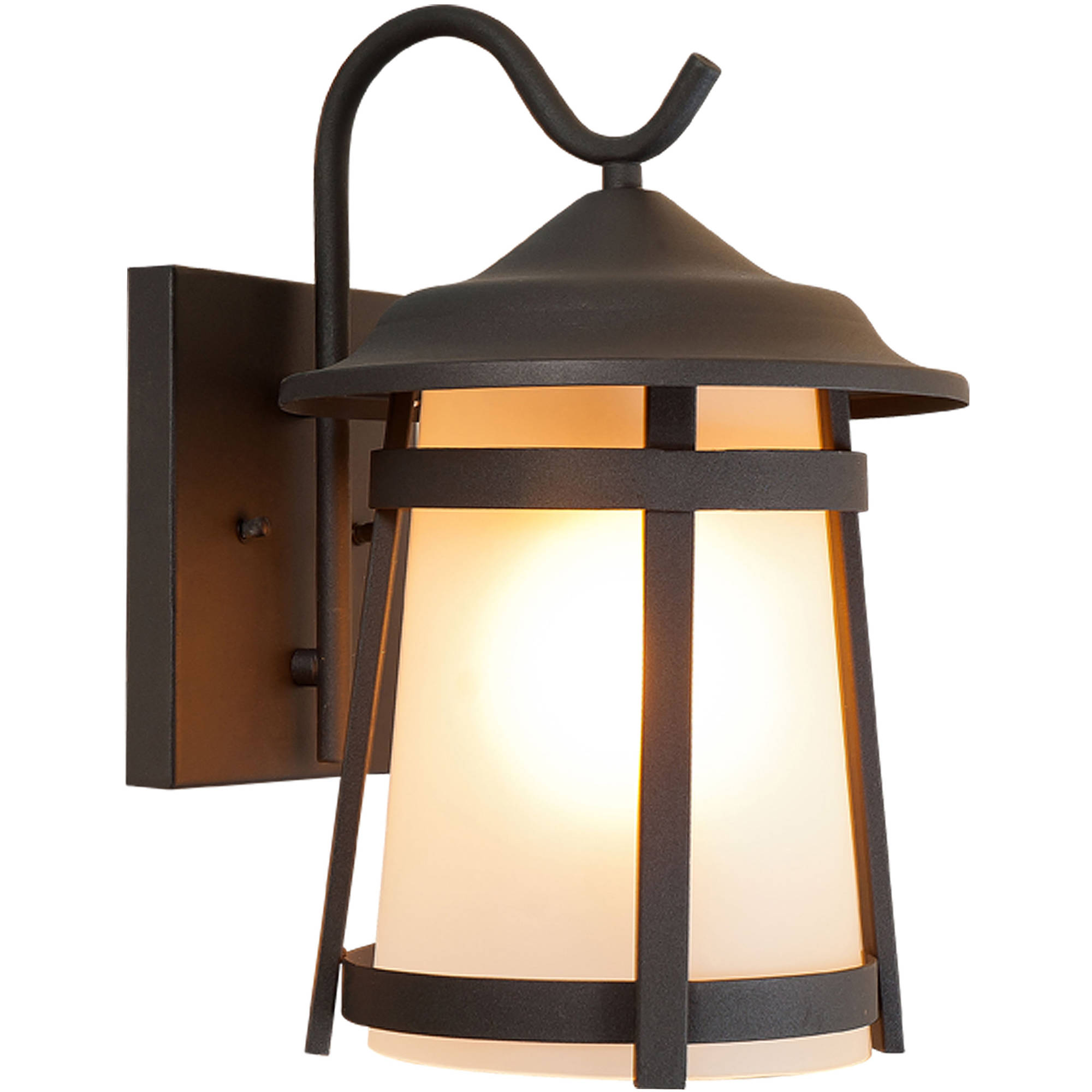 High Quality Litex Industries Outdoors Wall Lighting Litex Outdoor Wall Light Fixture,  Sandy Black Finish, Coach Lamp, 2 Pack   Walmart.com