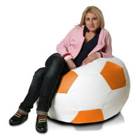 Turbo Beanbags Soccer Ball Large Bean Bag Chair