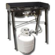 King Kooker Low Pressure Dual Burner Portable Propane Outdoor Cooker