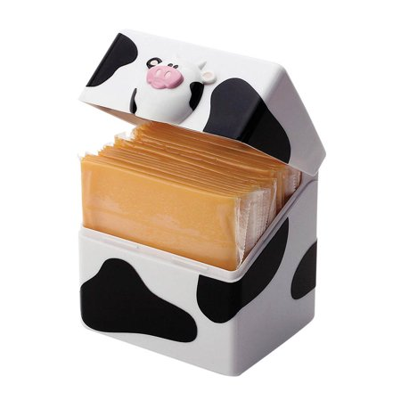 Joie Moo-Moo Cow Cheese Slice Holder Pod (Best Way To Slice Cheese)