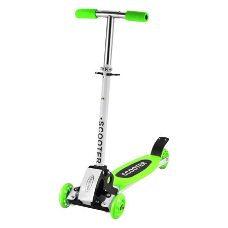 Adjustable 3 Wheels Kids Scooter Micro T-Bar Toddler Push Fun Exercise Toys Scooter for Kids SPPYY