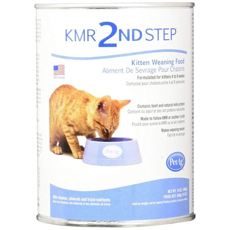 PetAg KMR 2nd Step Kitten Weaning Food 14oz, Made to ease the transition from milk to solid foods By Pet Ag (Pet Ag Inc)