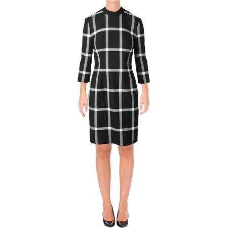 BOSS Hugo Boss Womens Hadena Professional Business Attire Wear to Work Dress - 70 Dress Attire