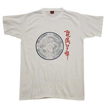 Chinese Culture Crewneck T Shirt Dragon & Phoenix (China Dragon T-shirt)