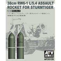 1/35 38cm RW6-1 L/5.4 Assault Rocket for Sturmtiger