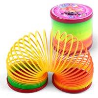 Fashion-Colorful-Rainbow-Plastic-Magic-Slinky-Children-Classic-Development-Toy
