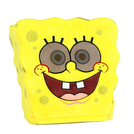 Maskimals Oversized Plush Halloween Mask - Spongebob - Pumpkin Mask Printable Halloween