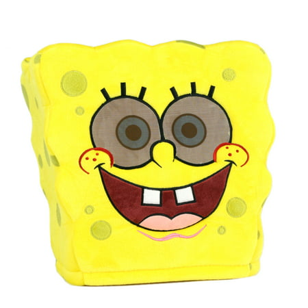 Maskimals Oversized Plush Halloween Mask - Spongebob