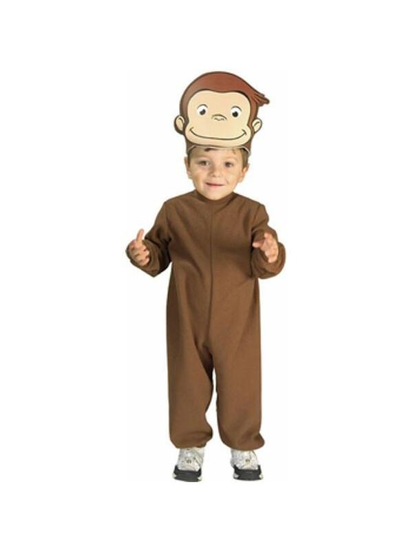 Infant Curious George Costume Rubies 885403, 6-18mo by Rubies