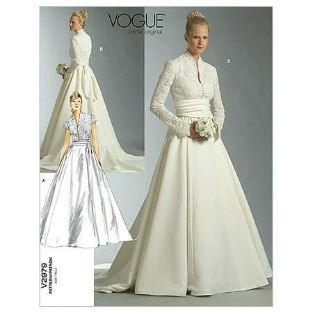 Vogue Pattern Misses' and Misses' Petite Dress and Sash, A (6, 8, 10) - Greek Dress Pattern