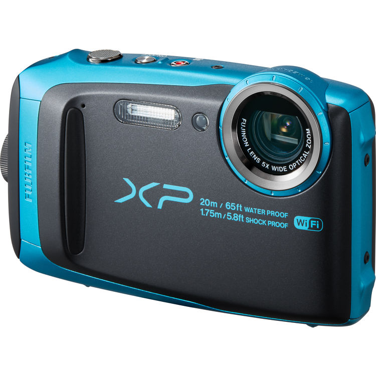 FujiFilm FinePix XP120 Digital Camera Sky Blue by Fujifilm