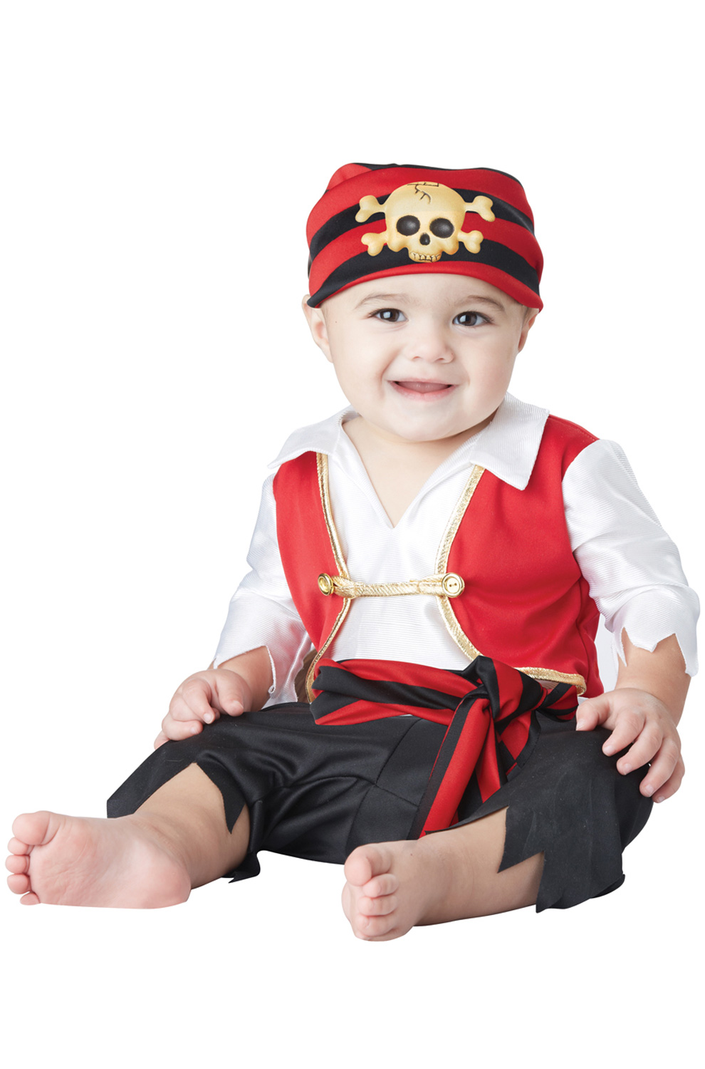 Pee Wee Pirate Infant Costume by California Costumes
