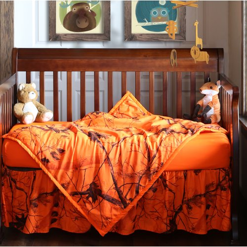 Realtree Bedding Realtree AP 3 Piece Crib Bedding Set