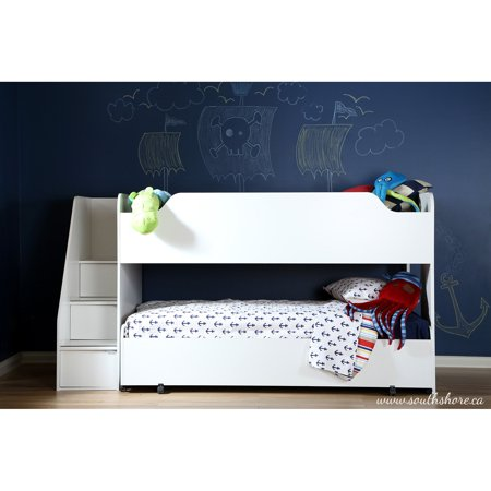 South Shore Twin Loft Bed Trundle