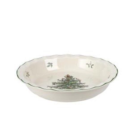 Spode Christmas Tree Dishwasher Safe - Spode CHRISTMAS TREE Sculpted Pie Dish