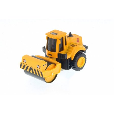 Ashpalt Paving Machine Extreme Construction Vehicle, Yellow - Showcasts 2681/2D - Model Toy Car (Brand New but NO BOX) - Extreme Toys