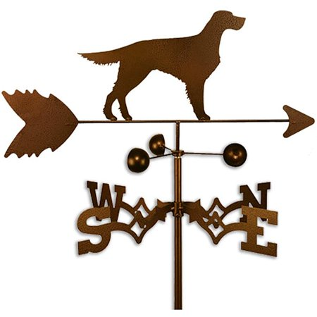 SWEN Products Inc Handmade Gordon English Setter Dog Weathervane